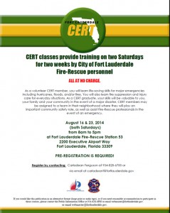 Cert August Training