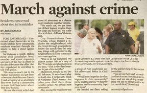 crime rally news