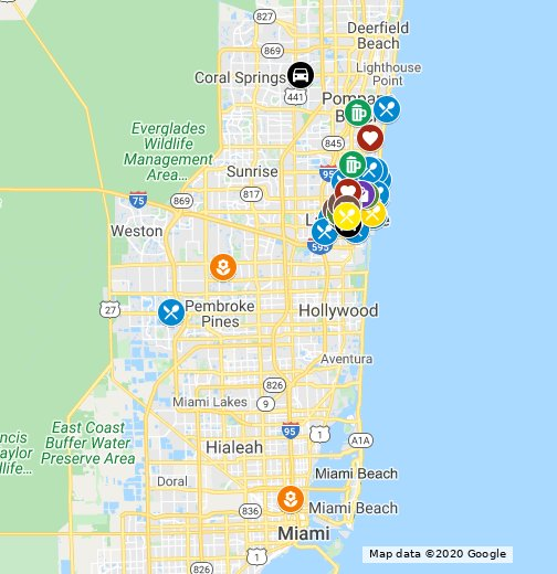 Support Local During COVID-19: Fort Lauderdale – Google My Maps
