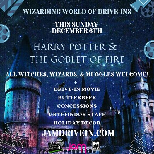HARRY POTTER & THE GOBLET OF FIRE  DRIVE-IN MOVIE!  This is no ordinary Dr…
