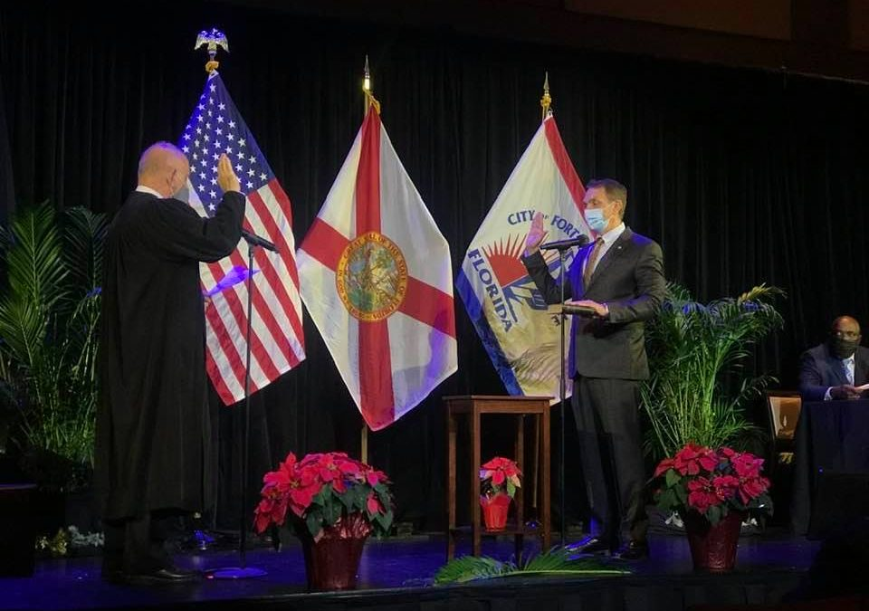 Swearing in ceremony yesterday of our City of Fort Lauderdale elected official…