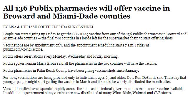 Covid Vaccines!